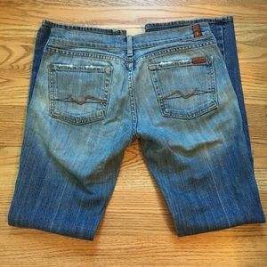 Women's 7 for All Mankind Bootcut Jeans Size 28